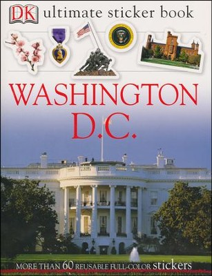 Ultimate Sticker Book: Washington DC  -