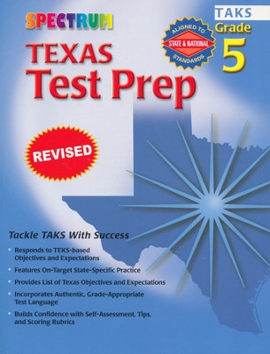 Spectrum Test Prep Texas Grade 5   -