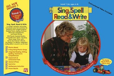 Sing, Spell, Read & Write, Level 1 (Edition 2)   -