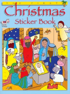 The First Christmas Sticker Book  -     By: Bethan James