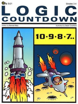 Logic Countdown, Grades 3-4   -     By: Bonnie Risby     Illustrated By: Dean Crawford