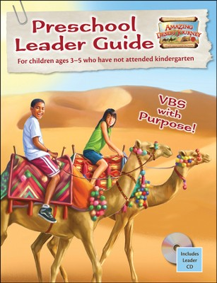 Amazing Desert Journey Preschool Leader Guide with CD  -