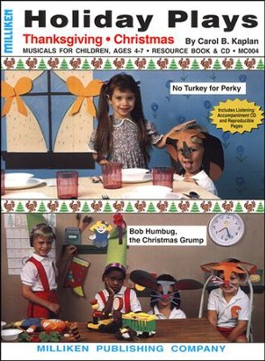 Holiday Plays for Thanksgiving and Christmas   -