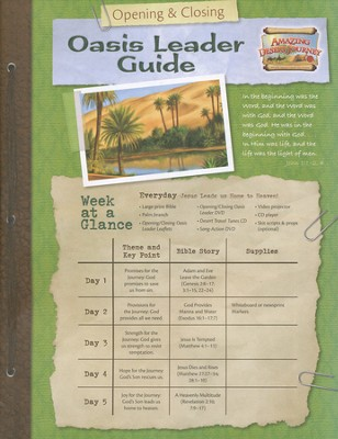 Amazing Desert Journey Opening / Closing Leader Pack with CD & DVD  -