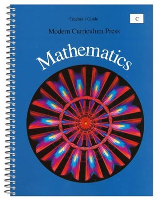 Modern Curriculum Press Math Teacher's Guide, Level C, Grade 3   -