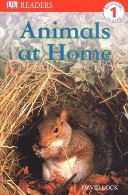 DK Readers Level 1: Animals At Home  -