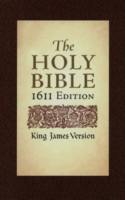 KJV 1611 Bible 400th Anniversary Edition, Hardcover   -