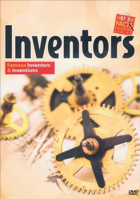 Inventors: Famous Inventors and Inventions DVD  -