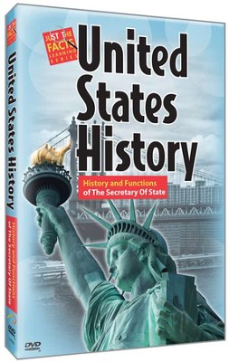 U.S. History: History and Functions of The Secretary Of State DVD   -