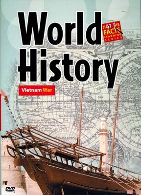 World History: Vietnam War DVD  -