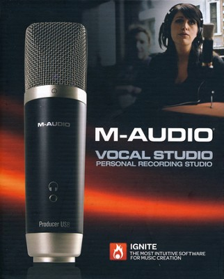 M-Audio Vocal Studio-Easily Record Vocals Like A Pro   -