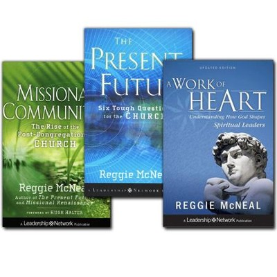 Reggie McNeal Pack, 3 Volumes   -     By: Reggie McNeal