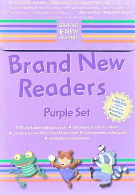 Brand New Readers: Purple Set   -     By: Candlewick Press Staff