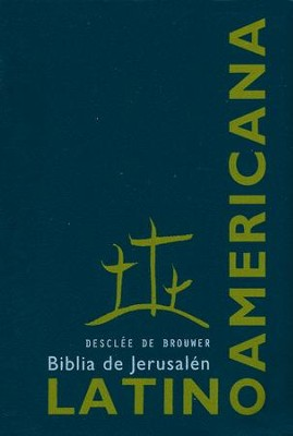 Biblia de Jerusalén Latinoamericana, Vinil  (Latinoamerican Jerusalem Bible, Vinyl)  -     By: Biblical & Archeological School of Jerusalem