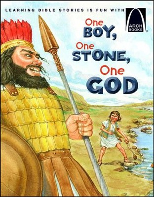 One Boy, One Stone, One God  -     By: Michelle Adams Medlock