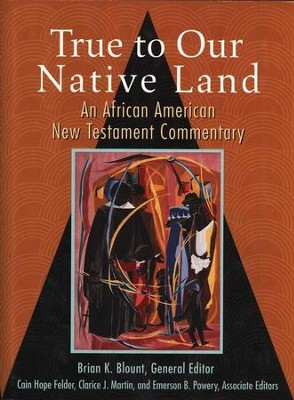 True to Our Native Land: An African American New Testament Commentary  -     Edited By: Brian K. Blount     By: Brian K. Blount, ed.