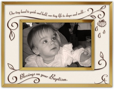 Blessings On Your Baptism Photo Frame  -