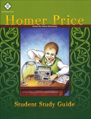 Homer Price, Literature Guide 3rd Grade, Student Edition  -