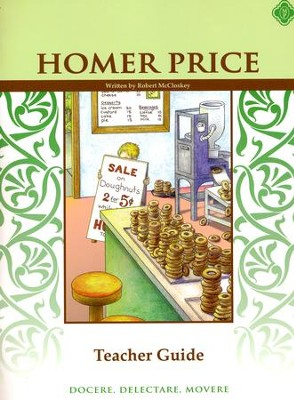 Homer Price, Literature Guide 3rd Grade, Teacher's Edition  -