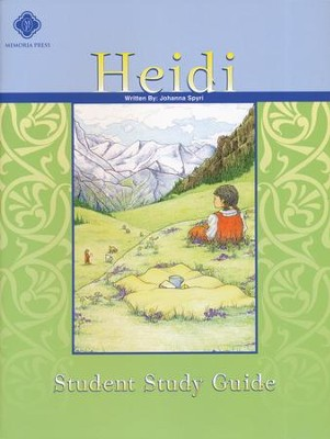 Heidi, Literature Guide 4th Grade, Student Edition  -