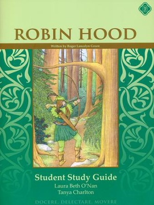 Robin Hood Literature Guide 6th Grade Student Edition   -