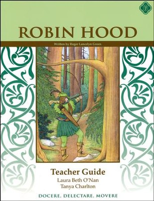 Robin Hood Literature Guide, 6th Grade, Teacher's Edition   -