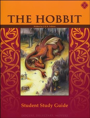 The Hobbit, Literature Guide 5th Grade, Student Edition  -