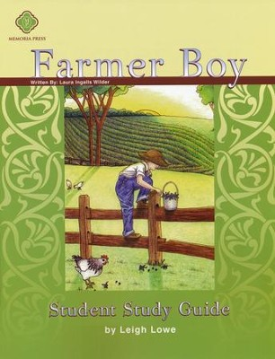 Farmer Boy, Literature Guide 3rd Grade, Student Edition  -
