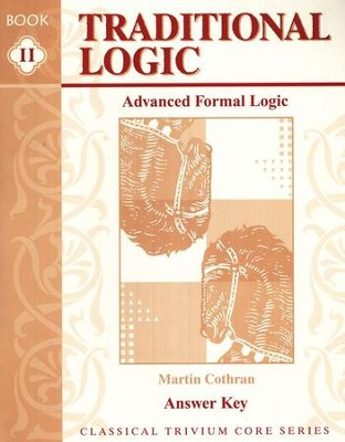 Advanced Formal Logic Workbook & Test Answer Key   -