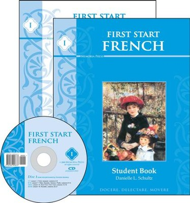 First Start French--Book 1 Kit with Pronunciation CD  -     By: Danielle Schultz