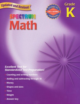Spectrum Math, 2007 Edition, Grade K   -