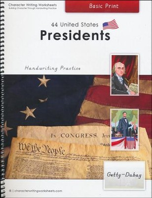 44 United States Presidents: Basic Print, Getty-Dubay Edition  -     By: Holly Shaw, Wendy Shaw