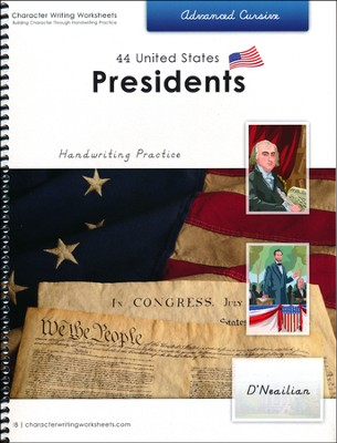 44 United States Presidents: Advanced Cursive, D'Nealian Edition  -     By: Holly Shaw, Wendy Shaw