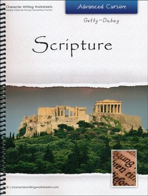 Scripture: Advanced Cursive, Getty-Dubay Edition   -     By: Wendy Shaw, Holly Shaw