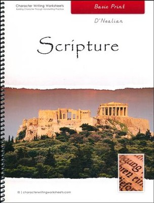 Scripture: Basic Print, D'Nealian Edition   -     By: Wendy Shaw, Holly Shaw