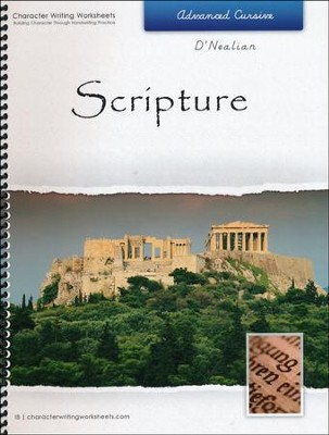 Scripture: Advanced Cursive, D'Nealian Edition   -     By: Wendy Shaw & Holly Shaw