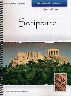 Scripture: Advanced Cursive, Zaner-Bloser Edition   -     By: Wendy Shaw, Holly Shaw
