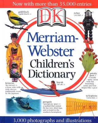Merriam-Webster Children's Dictionary, Illustrated Edition  -