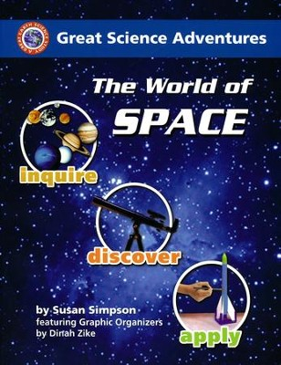 The World of Space   -     By: Dinah Zike, Susan S. Simpson