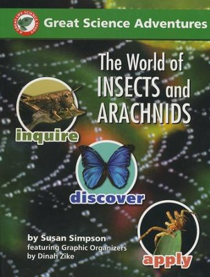 The World of Insects and Arachnids   -     By: Dinah Zike, Susan S. Simpson