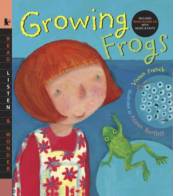 Growing Frogs With Audio CD  -     By: Vivian French