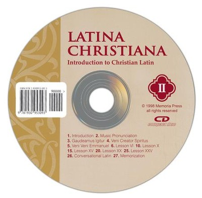 Latina Christiana 2: Introduction to Christian Latin, Pronunciation CD  -     By: Homeschool