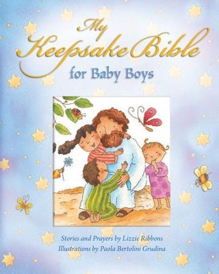 My Baby Keepsake Bible--Baby Boys   -     By: Paola Bertolini Grudina