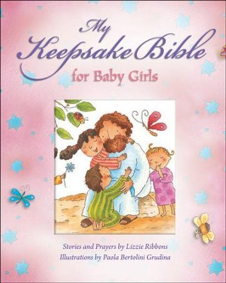My Baby Keepsake Bible-Baby Girls   -     By: Paola Bertolini Grudina