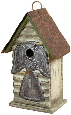 Angel Birdhouse  -