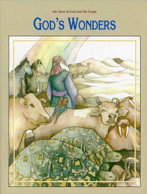 Story of God and His People: God's Wonders (Kindergarten) Student Activity Book  -     By: Rachelle Wiersma