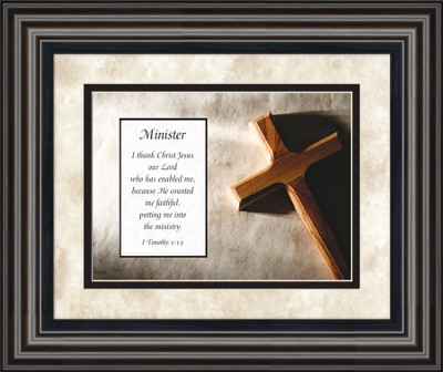 Minister Framed Art  -