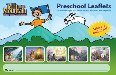 Trail Tales Preschool Leaflets  -     By: Marilyn Wiesehan, Greg Copeland