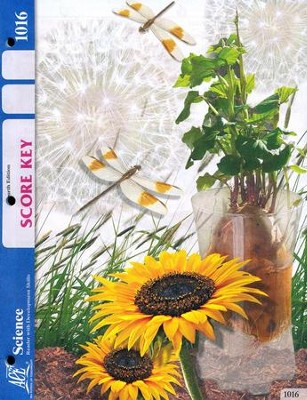 4th Edition Science Score Key 1016, Grade 2   -