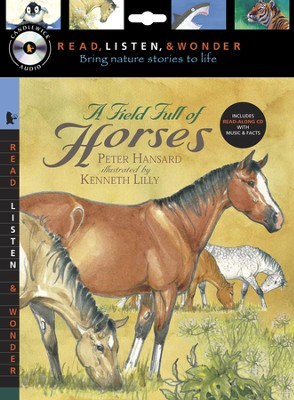 A Field Full of Horses With Audio CD, Peggable  -     By: Peter Hansard